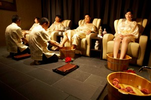 Group Foot Massage